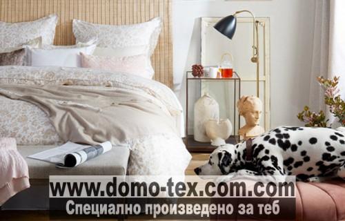 Спално бельо от органичен памук