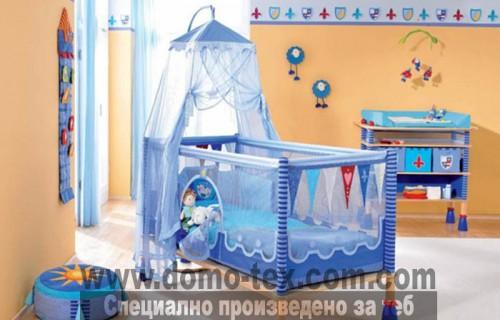 Спално бельо с обиколници