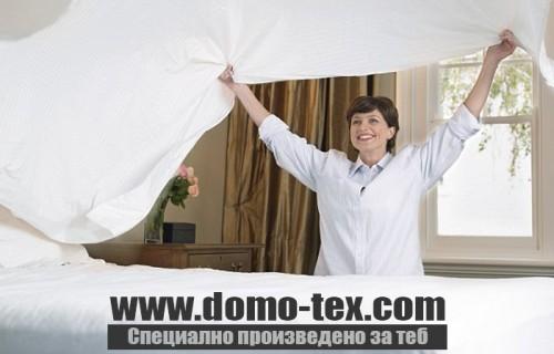Спално бельо сушилня
