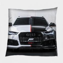Квадратна декоративна възглавница с автомобил Ауди - Audi