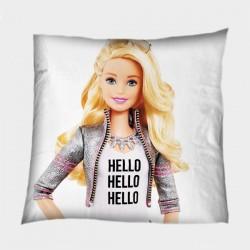 Детска декоративна възглавница Здравей Барби - Barbie Hello