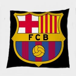 Футболна декоративна възглавница Барселона - Barcelona Black
