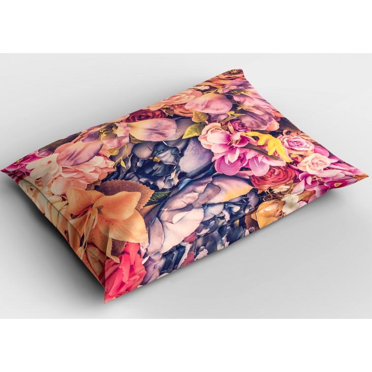 Декоративна възглавница с флорални мотиви Красиви цветя - Beautiful Flowers