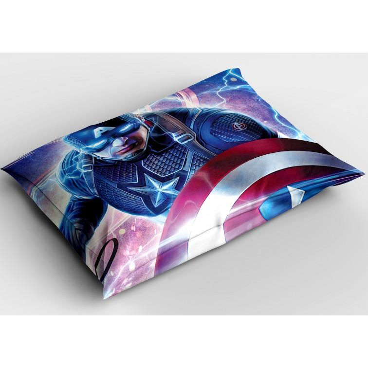 Ефектна декоративна възглавница Капитан Америка - Captain America