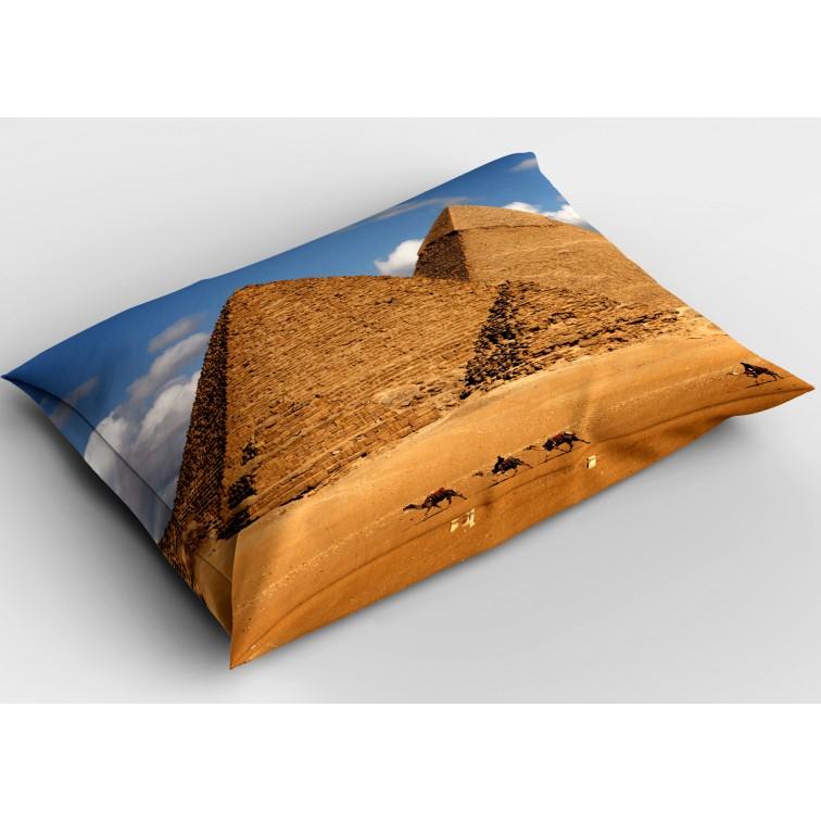 Модерна декоративна възглавница Египет Пирамиди - Egypt Pyramids