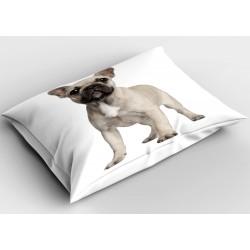 Декоративна възглавница с куче Френски булдог