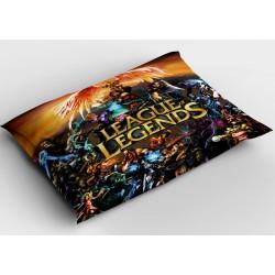 Фенска декоративна възглавница LoL - League of Legends