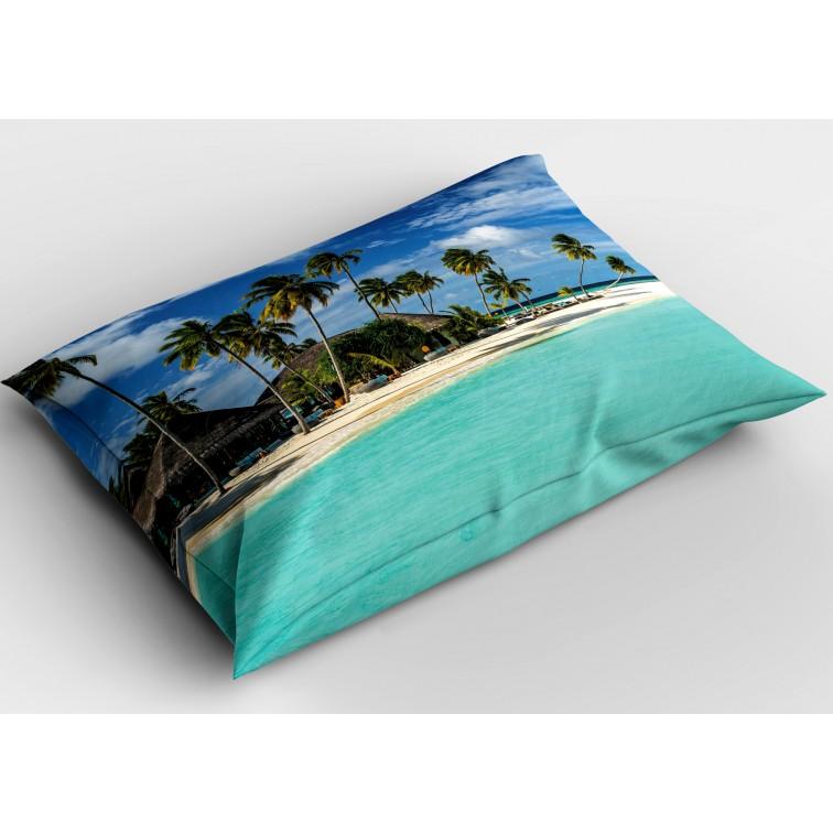 Декоративна възглавница с пейзаж Малдиви - Maldives