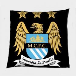 Футболна декоративна възглавница Манчестър Сити - Manchester City