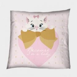 Детска декоративна възглавничка Мери - Marie Cat Lady