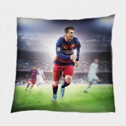 Футболна декоративна възглавница Лео Меси - Messi