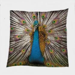 Красива декоративна възглавница Паун - Peacock