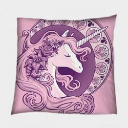 Декоративна възглавница Розов еднорог - Pink Unicorn