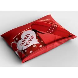 Романтична деко възглавница С любов - With Love