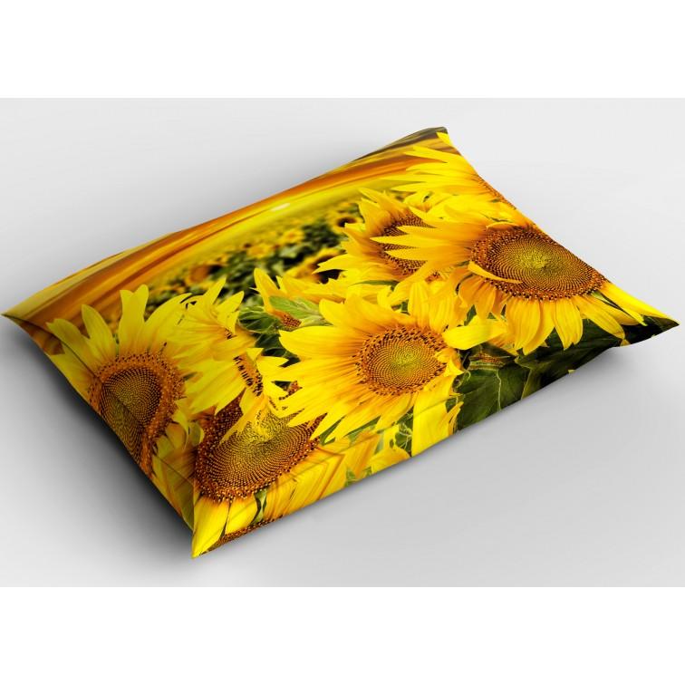 Флорална деко възглавница Слънчогледи - Sunflowers