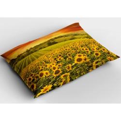 Деко възглавница Слънчогледово поле - Sunflower Field