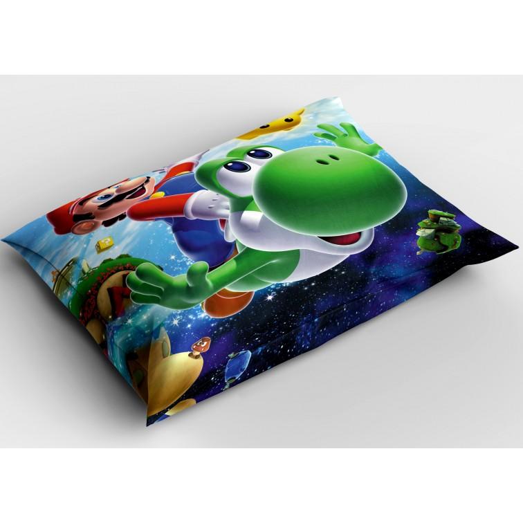 Деко възглавница с игра Супер Марио - Super Mario