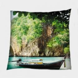 Декоративна възглавница с пейзаж Тайланд - Tailand