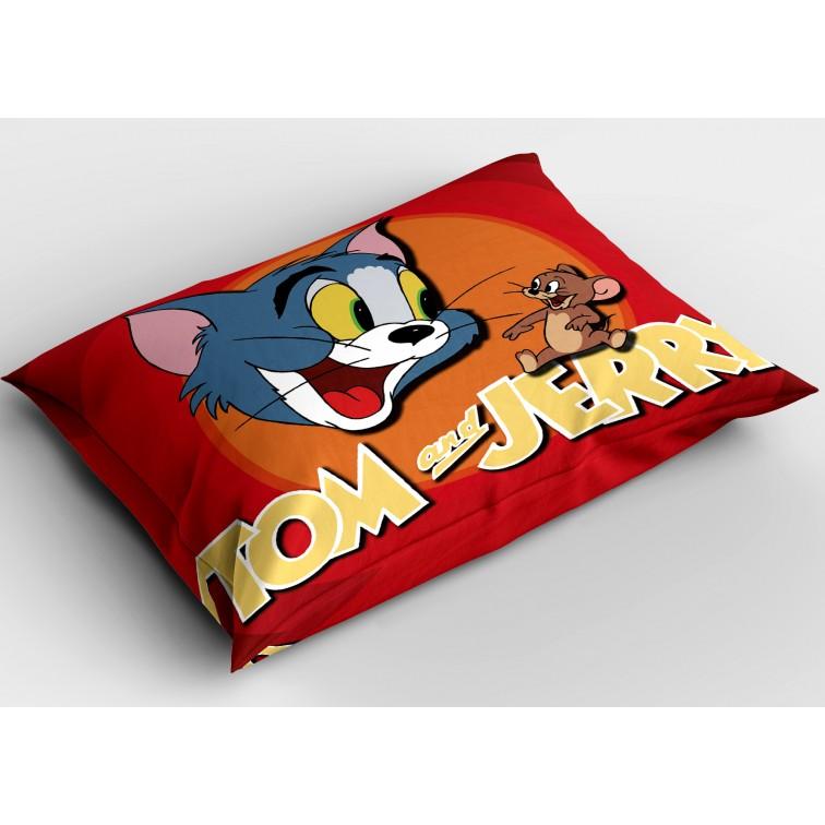 Детска декоративна възглавничка Том и Джери - Tom and Jerry