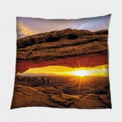 Декоративна възглавница Изгрев в САЩ - Sunrise in USA