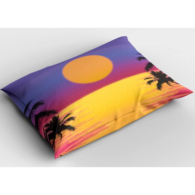 Декоративна възглавница Залез на морето - Sea Sunset
