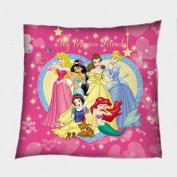 Детска деко възглавничка Принцеси - Princesses