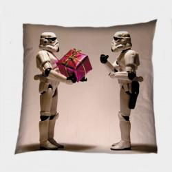 Деко коледна възглавница Междузвездни войни - Star Wars Christmas