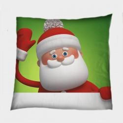 Декоративна коледна възглавница Дядо Мраз - Santa Claus