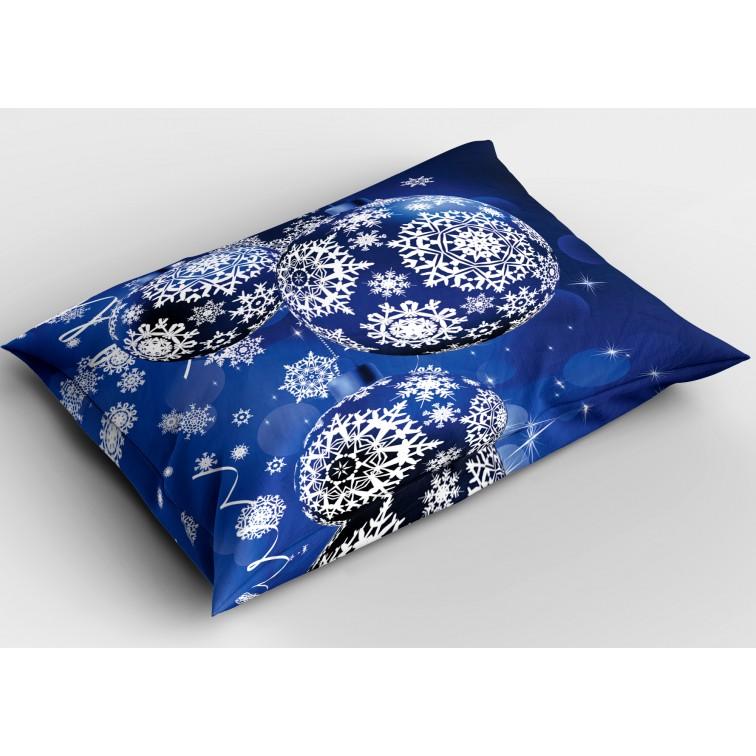 Декоративна коледна възглавница Коледни топки - christmas Balls