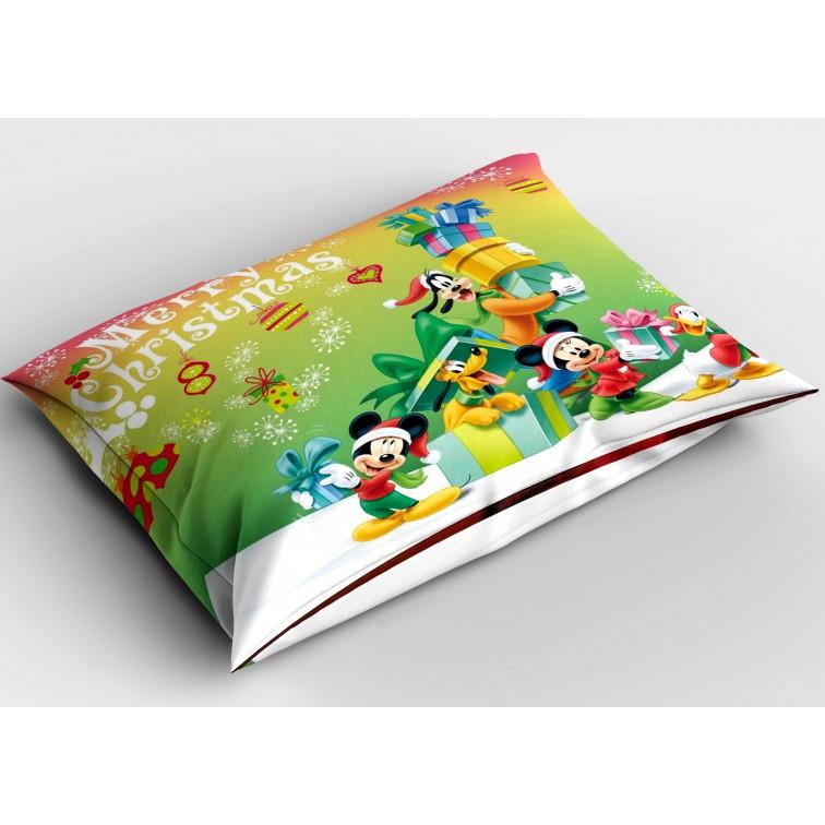 Коледна възглавница Мики Маус и приятели на Коледа - Mickey Mouse Christmas