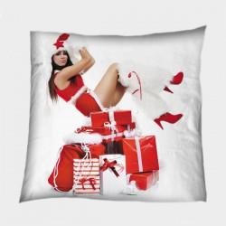 Коледна възглавница Подаръци от Снежанка - Gifts from Snow White