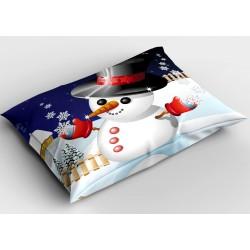 Коледна възглавничка Снежко - Snowman