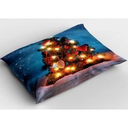 Коледна деко възглавница Светеща елха - Shiny Christmas Tree