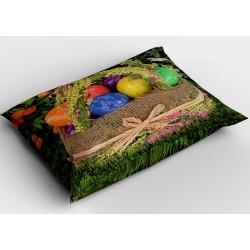 Деко възглавница за Великден Кошница с яйца - Eggs in a Basket