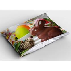 Великденска декоративна възглавница Шоколадово зайче - Chocolate Bunny