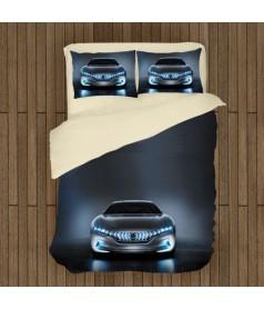 Спално бельо с автомобили и мотори