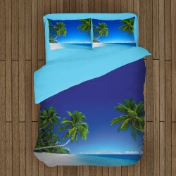 Спално бельо с пейзажи