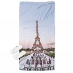 3D кърпа за плаж Айфелова кула - Eifel Tower