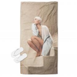 Модерна хавлия за плаж Ариана Гранде - Ariana Grande