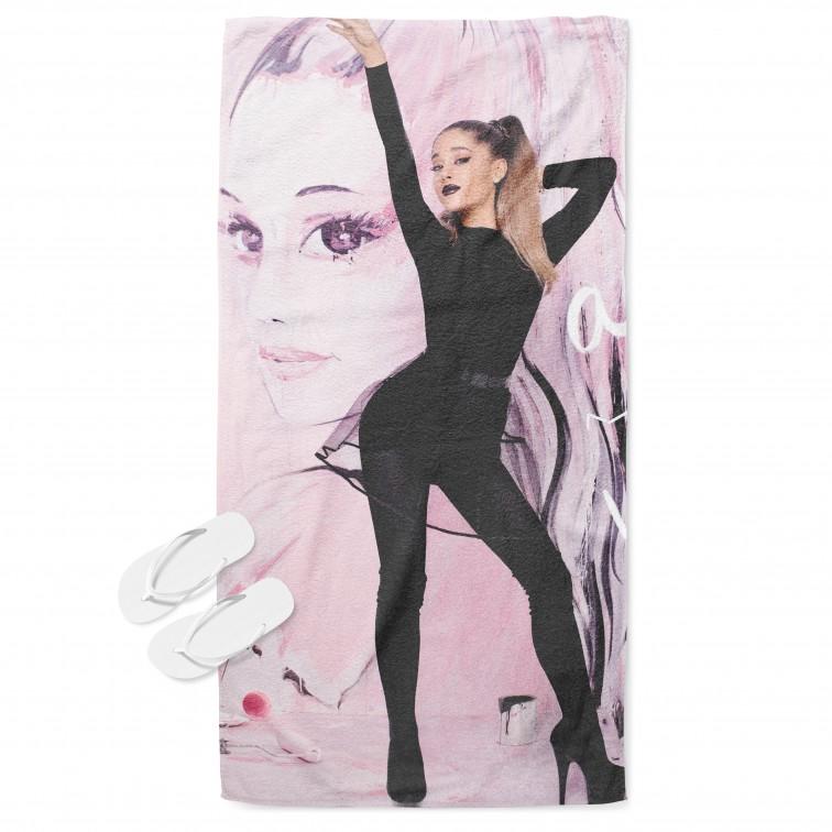 Модерна кърпа за плаж Ариана Гранде Арт - Art Ariana Grande