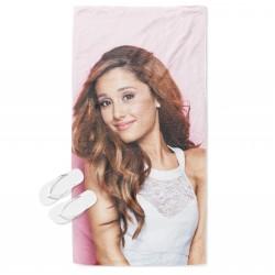 Кърпа за плаж Ариана Гранде в розово - Ariana Grande