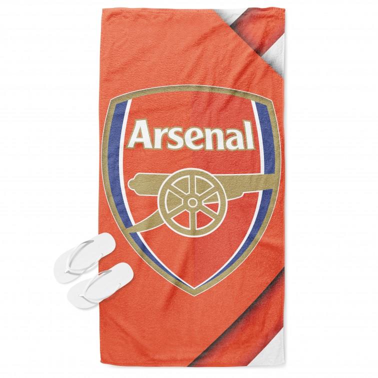 Хавлиена плажна кърпа с принт Арсенал - Arsenal
