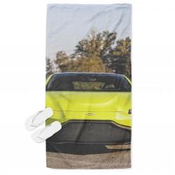 Кърпа за плаж с кола Астън Мартин - Aston Martin