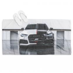 Хавлиена кърпа за плаж с кола Ауди - Audi