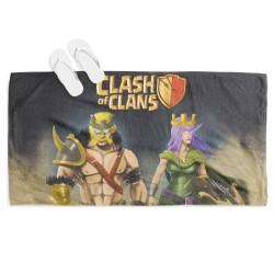 Фенска 3D хавлия за плаж Clash of Clans