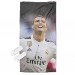 Футболна плажна кърпа Кристиано Роналдо - Cristiano Ronaldo