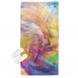 Пъстра кърпа за плаж Цветовете на дъгата - The Rainbow Colors