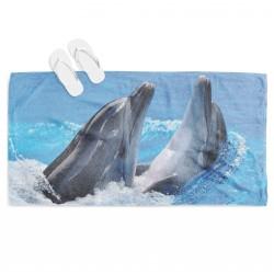 Морска кърпа за плаж Делфини - Dolphins