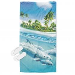 Плажна хавлия Делфини - Dolphins