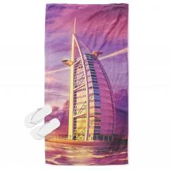 3D хавлия за плаж Дубай Бурж Ал Араб - Dubai Burj Al Arab